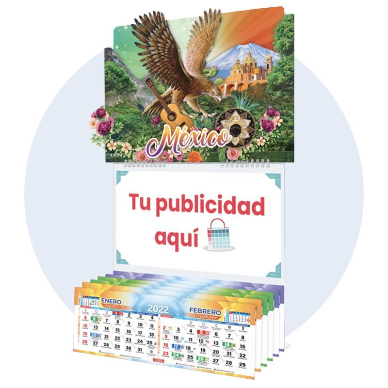 Calendario 3D